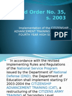 DepEd Order No. 35, s. 2003 (1)