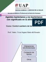 Agentes Bacterianos y No Bacterianos