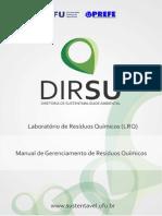 2014-03-05 - LRQ - Manual Para Gerenciamento de Resíduos Químicos