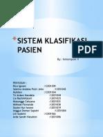 Sistem Klasifikasi Pasien Kelompok 5
