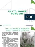 Phyto Power Extract Powders
