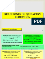 Electroquimica, quimica inorganica