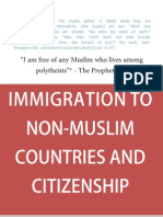Immigration to Non Muslim Countries and Citizenship