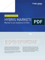 Hybris Marketing Solution Brief En