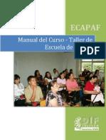 Manual Del Curso Taller de Escuela de Padres 2013