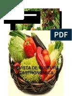 Revista  Cultura Gastronómica del Ecuador