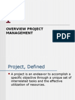 Ind- Overview Project Management