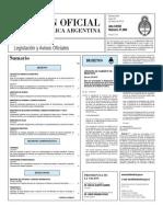 Boletin Oficial 22-03-10 - Primera Seccion