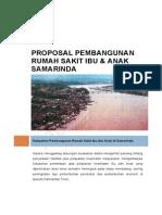 Contoh Proposal Pembangunan Rumah Sakit Ibu Anak