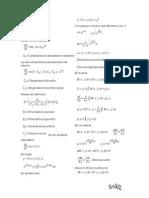 Formulario Ecs. Diferenciales