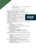 Michigan State University PKG 101 Module 12 Self Test