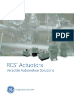 RCS Actuators Brochure