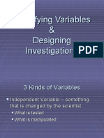 Identifying Variables