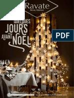 """Catalogue Ravate """"Quelques jours avant Noël """""""