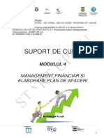 Modul 4 Management Financiar Si Elaborare Plan de Afaceri
