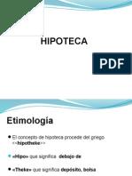 Diapositivas de Hipoteca y Anticresis 2014