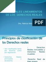 PRINCIPALES LINEAMIENTOS DE LOS  DERECHOS REALES.ppt
