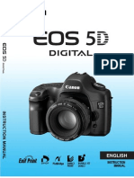 Canon EOS 5D manual