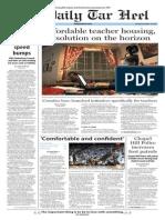 The Daily Tar Heel for Nov. 16, 2015