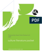 sr4 Culture Literature Packet