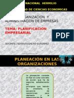 Planificacion en Las Organizaciones