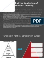 the world at the beginning of the 20th century summary and political structure
