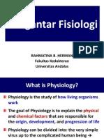 KP 1.1.6.7 Pengantar Fisiologi