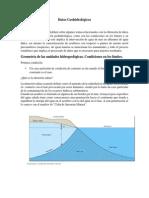 Datos Geohidrológicos