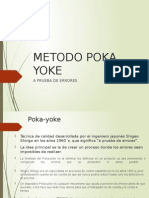 Metodo Poka Yoke