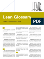 Lean+Glossary