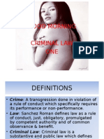 Criminal reviewer