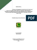 Hubungan Usia%2c Tingkat Pendidikan%2c Dukungan Suami%2c Dan Dukungan Keluarga Dengan Tingkat Kecemasan Menjelang Persalinan Pada Ibu Primigravida Trimester III Di Poliklinik Kebidanan Rsup Dr. m. Djamil Padang