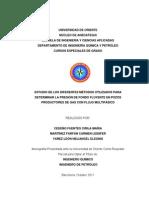 TESIS DE FORMACION QUIMICA PARA PETROLEO Y GAS