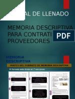 Memoria Descriptiva - Inicio de obra