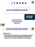 MATRADE Brand Promotion Grant NO MORE