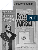 Anton Pann - Opere - Poveste Vorbei vol. I