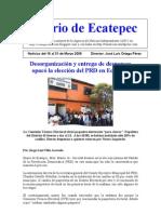 Diario de Ecatepec Noticias Marzo 16-31