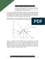 Preliminary Economics Practise extended response