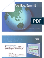 Driving the Value of SOA in an EA