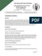 ptk constitution   bylaws