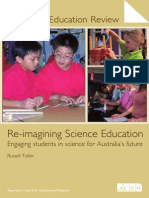 re-imagining science education   engaging students in science for