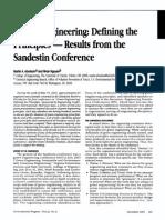 Green Engineering Defining the Principles