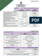 Kalendar Akademik Kump a Dis 2015 - April 2016 Selepas Senat Ke 198