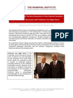 prof  eon harris round table report