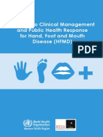 Guidance for the Clinical Management of h Fmd