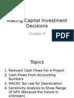 Investment Decision Method