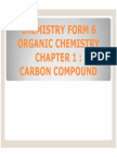 Chemistry Form 6 Sem 3 Chapter 1