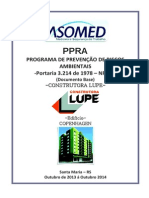 PPRA Modelo Muito Bom 2014