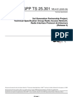 Radio Interface Protocol Architecture