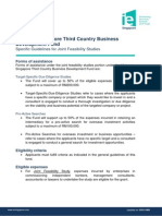 MalaysiaSingapore Third Country Business Development Fund